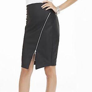 Express minus the leather pencil skirt with zip